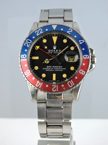 1972 Rolex GMT Master 1675 MKII B&P - serviced