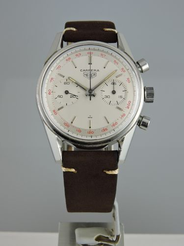1968 Heuer Carrera 45 - 3647T Original Paperwork