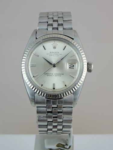 1964 Rolex Datejust 1601 - 18k/SS - serviced