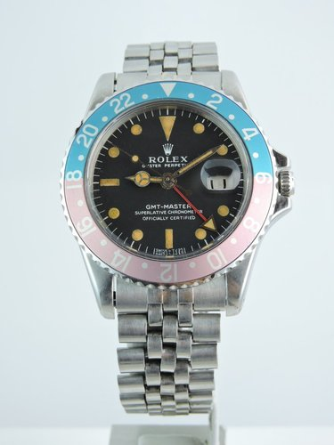 1967 Rolex GMT Master 1675 Long-E, B&P - serviced