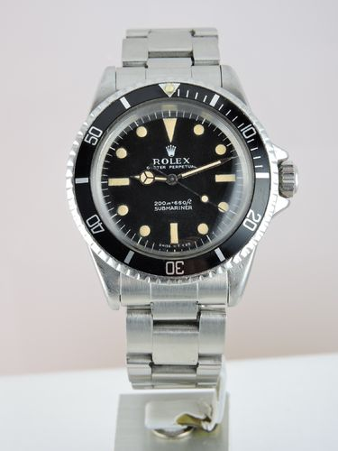 1968 Rolex Submariner 5513 Meters First