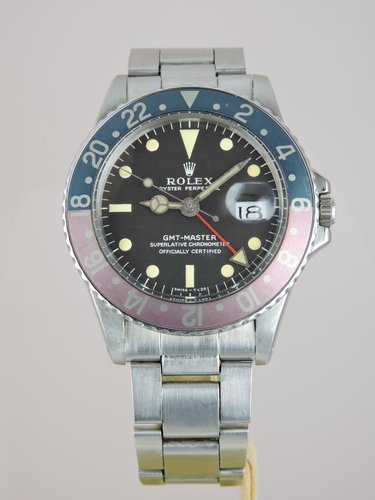 1971 Rolex GMT Master 1675 MKI Collector Set