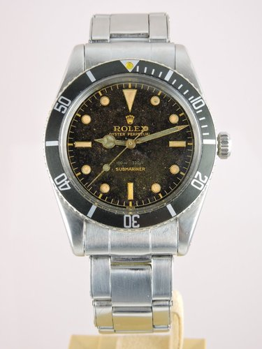 1957 Rolex Submariner Tropical Bond 6536/1 - B&P