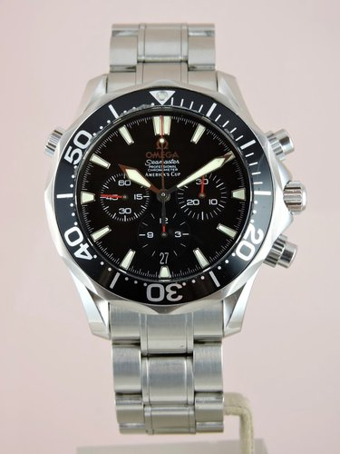 2003 Omega Seamaster America's Cup Chronograph - B&P