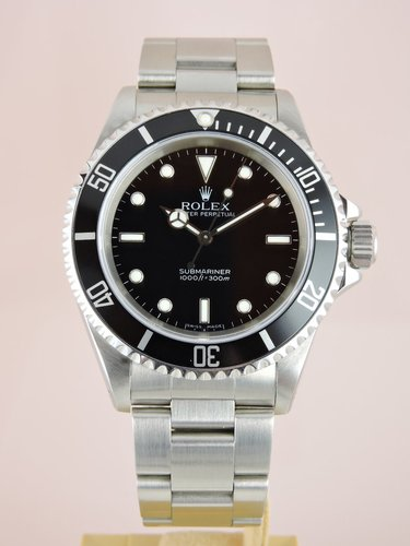 1991 Rolex Submariner 14060 - Box & Service Papers
