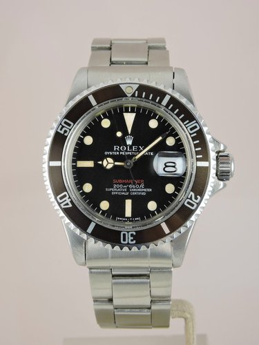 1969 MK I Red Submariner 1680 - Box & Papers