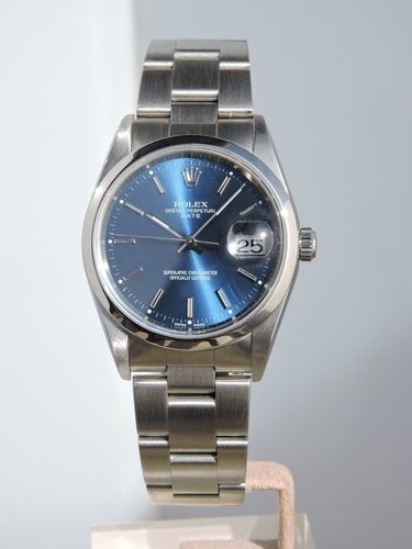 2002 Rolex Oyster Perpetual Date - serviced