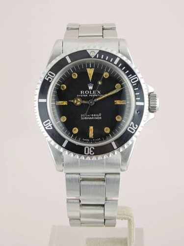 1967 Rolex Submariner 5513 M.F. - Serviced, Box & Booklets