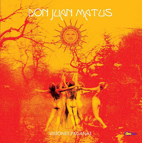 "DON JUAN MATUS ""Visiones Paganas"" coloured LP"
