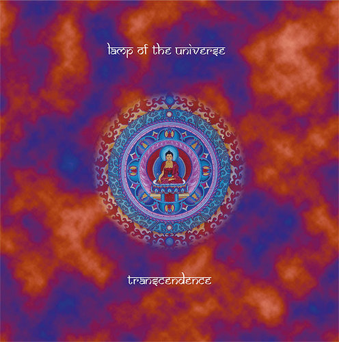 "LAMP OF THE UNIVERSE ""transcendence"" LP blue"