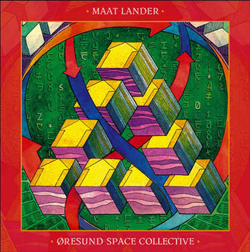 MAAT LANDER / ORESUND SPACE COLLECTIVE Split LP