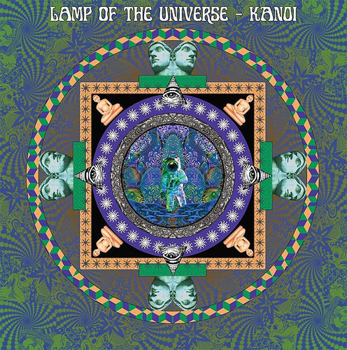 LAMP OF THE UNIVERSE / KANOI Split LP coloured