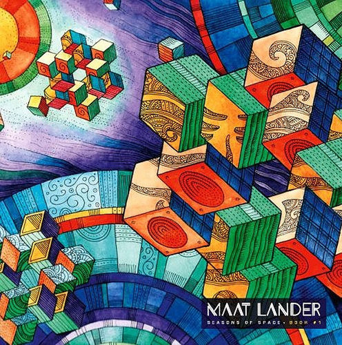 "MAAT LANDER ""Seasons of Space - book #1"" LP"