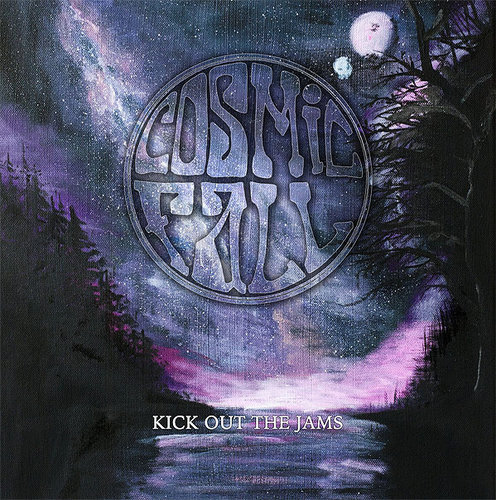 "COSMIC FALL ""Kick Out The Jams"" DLP pink purple"