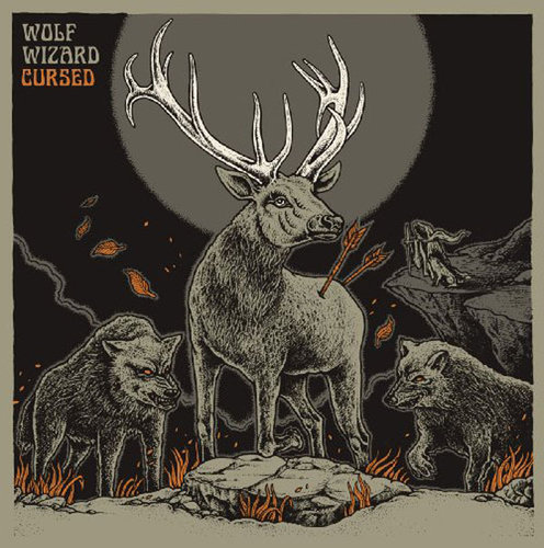 "WOLF WIZARD ""cursed"" LP"