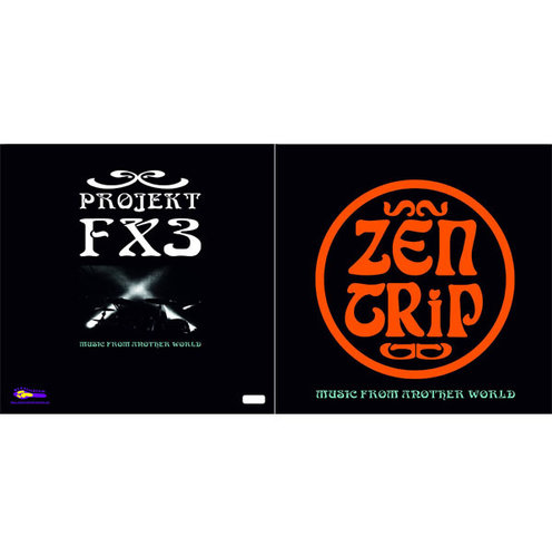ZEN TRIP / PROJEKT FX 3 Split LP coloured