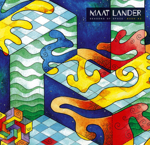 MAAT LANDER - SEASONS OF SPACE BOOK #2 LP coloured