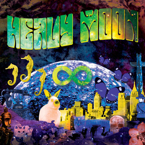 HEAVY MOON -  (aka INFINITY 2007-2018) CD