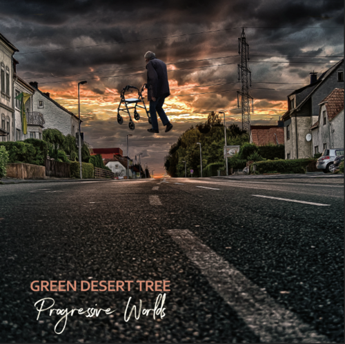 "GREEN DESERT TREE ""progressive worlds"""