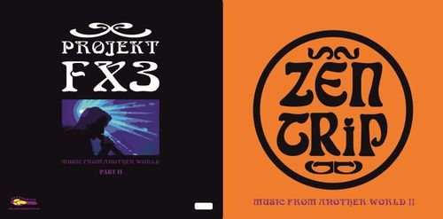 "ZEN TRIP / PROJEKT FX  3""Music from another World VOLUME II"" coloured"