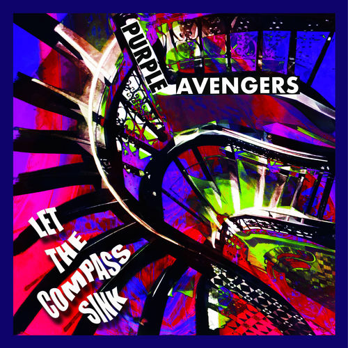 "PURPLE AVENGERS ""Let The Compass Sink"" black"