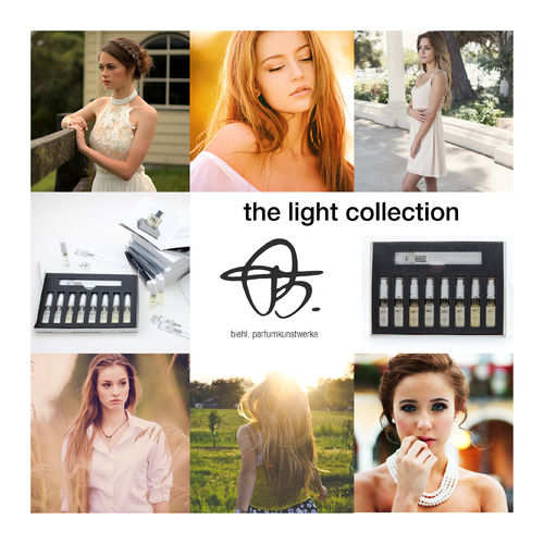 sample set 'light collection' with 6 x 2ml perfume samples