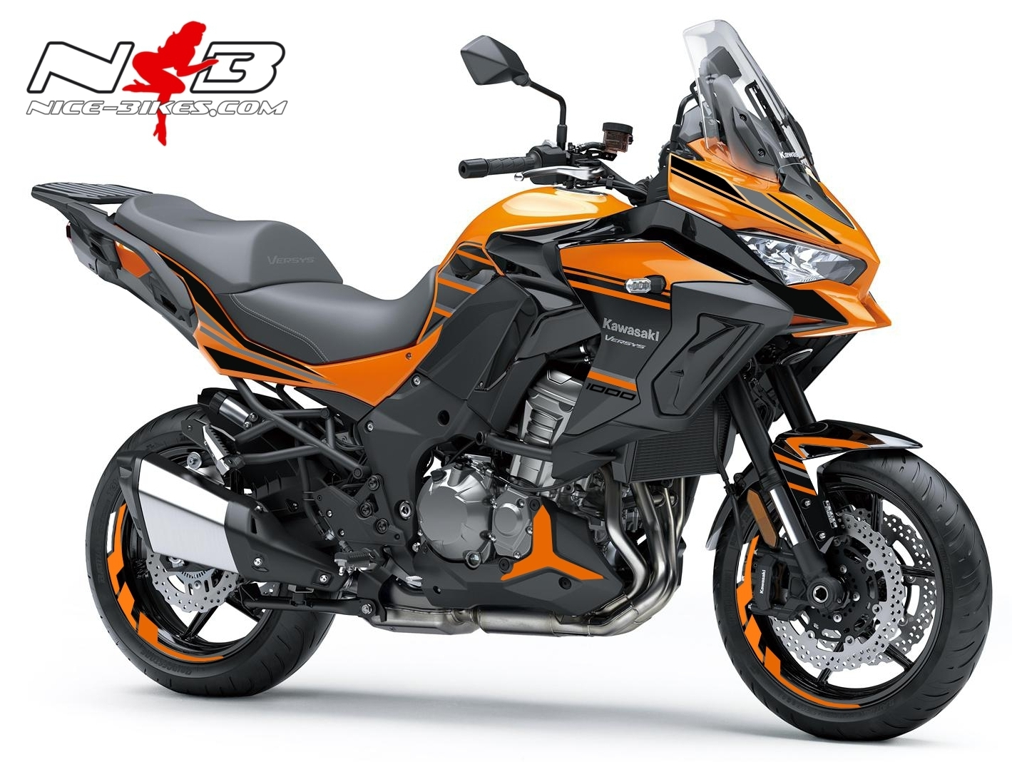 Versys 1000 orange Maschine