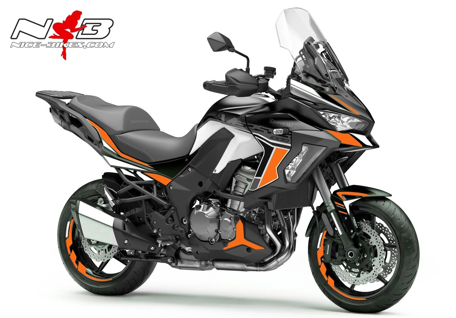 Versys 1000 schwarz orange