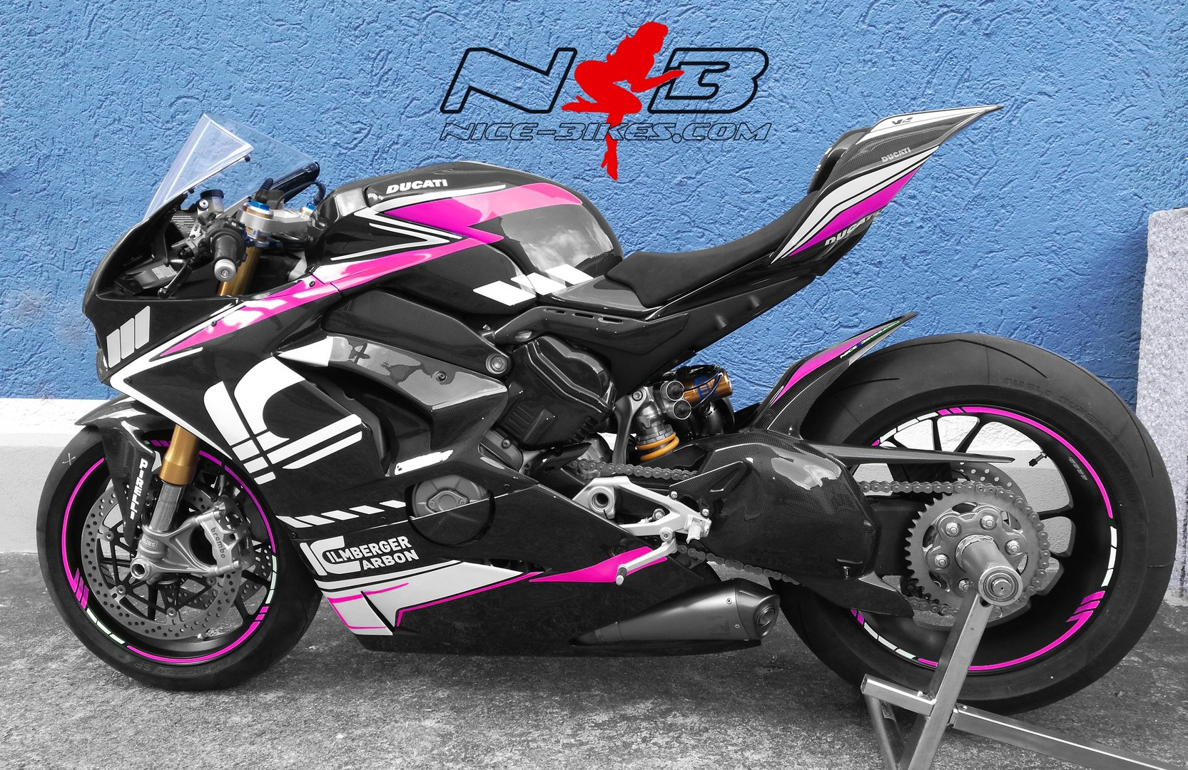 V4 Ilmberger Carbon Racing Edition pink