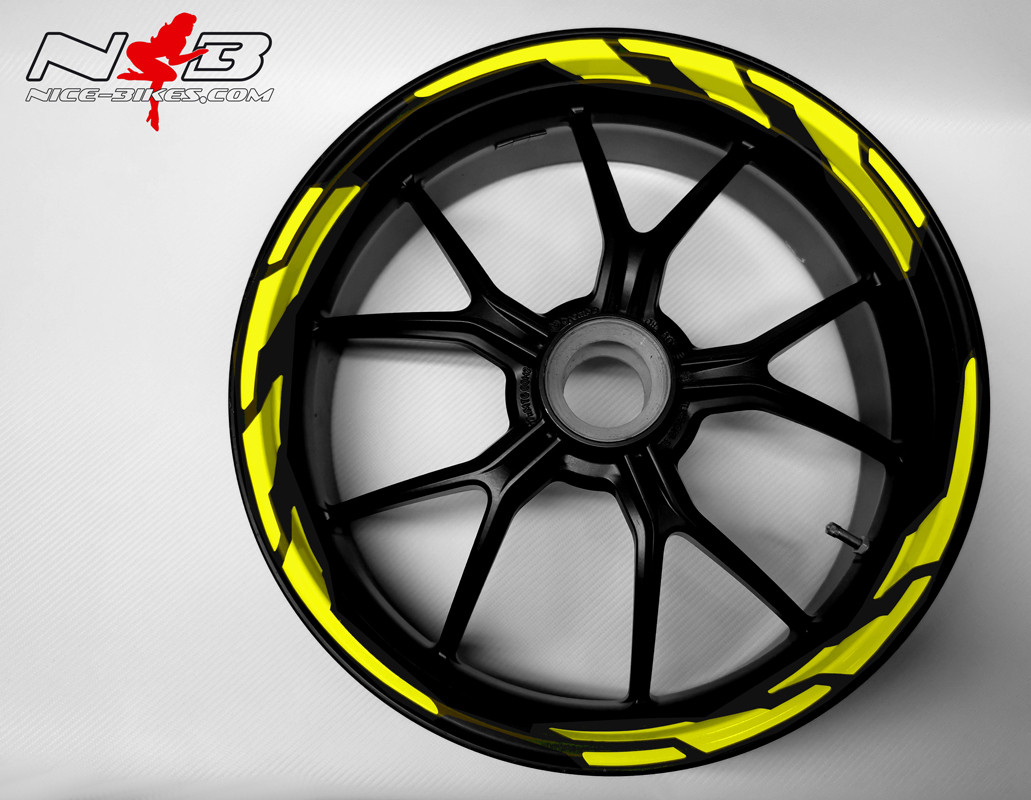 Speed Felgendekor Hornet Yellow