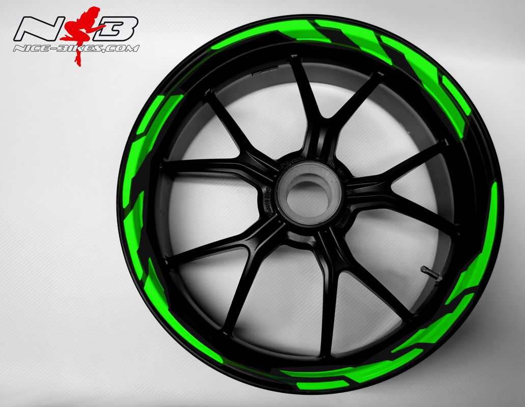 Speed Felgendekor Lime-Green