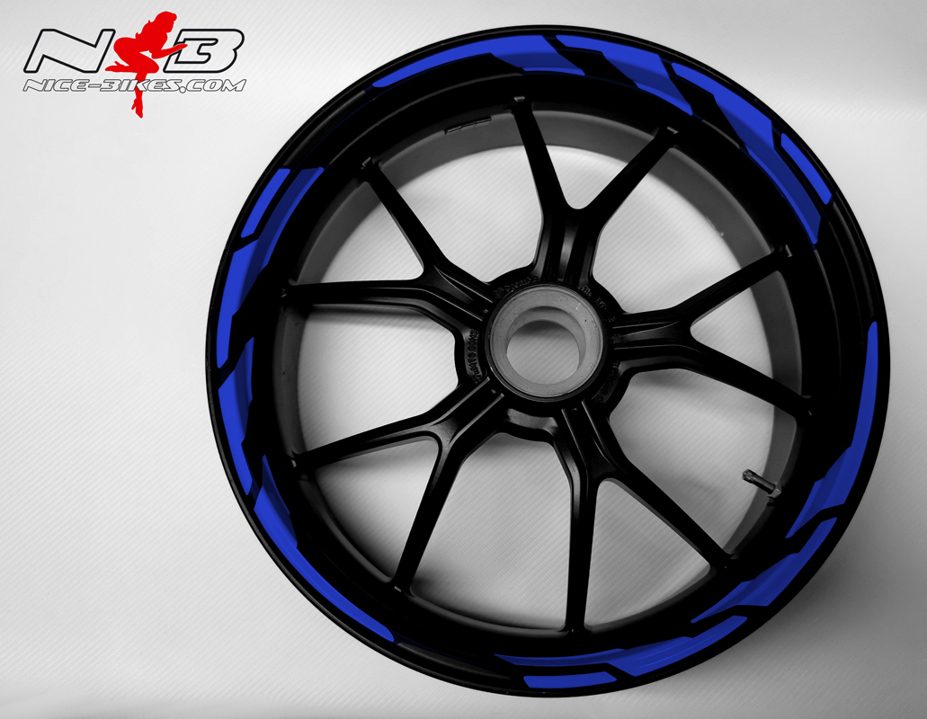 Speed Felgendekor Racing Blue