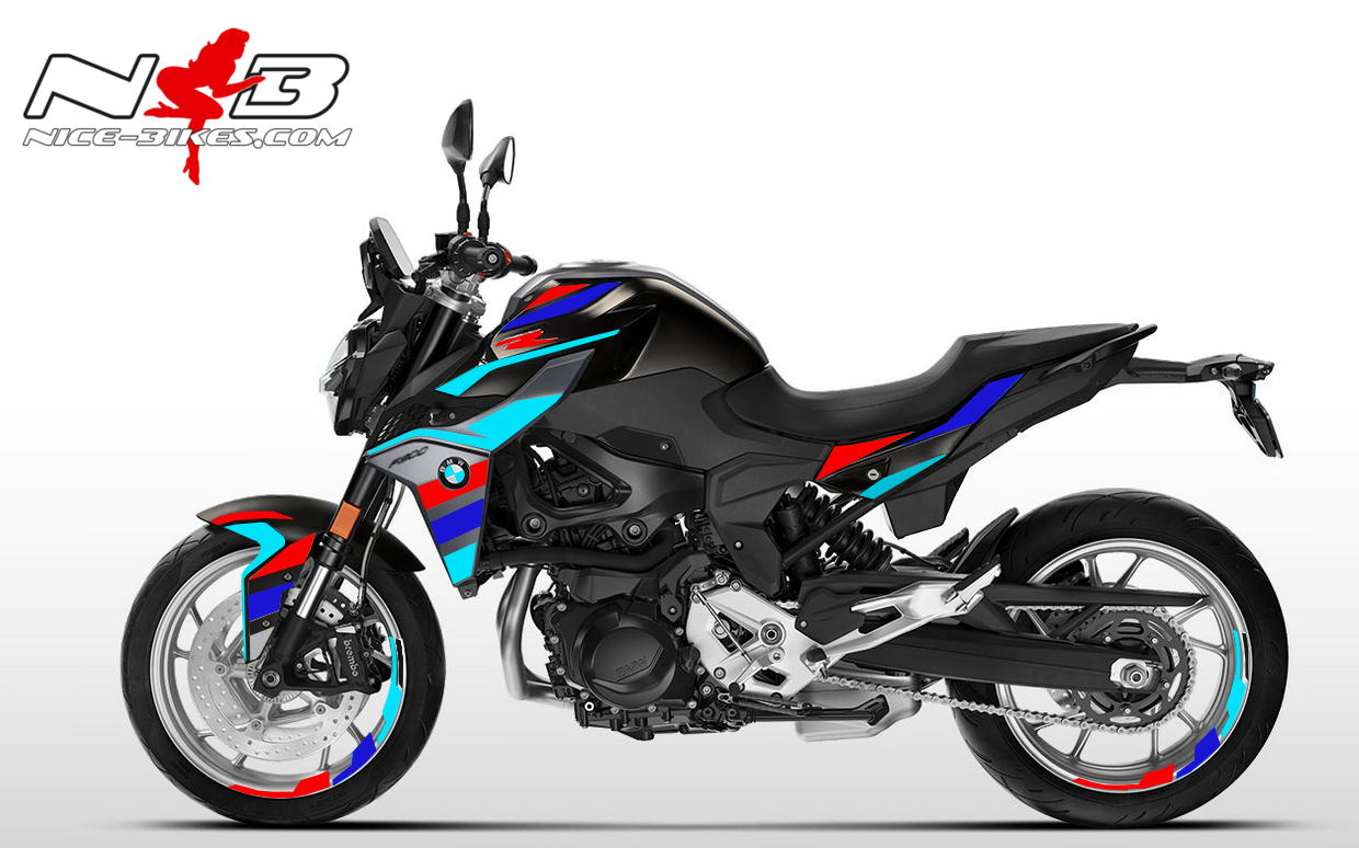 Foliendesign BMW F900 R Motorsport