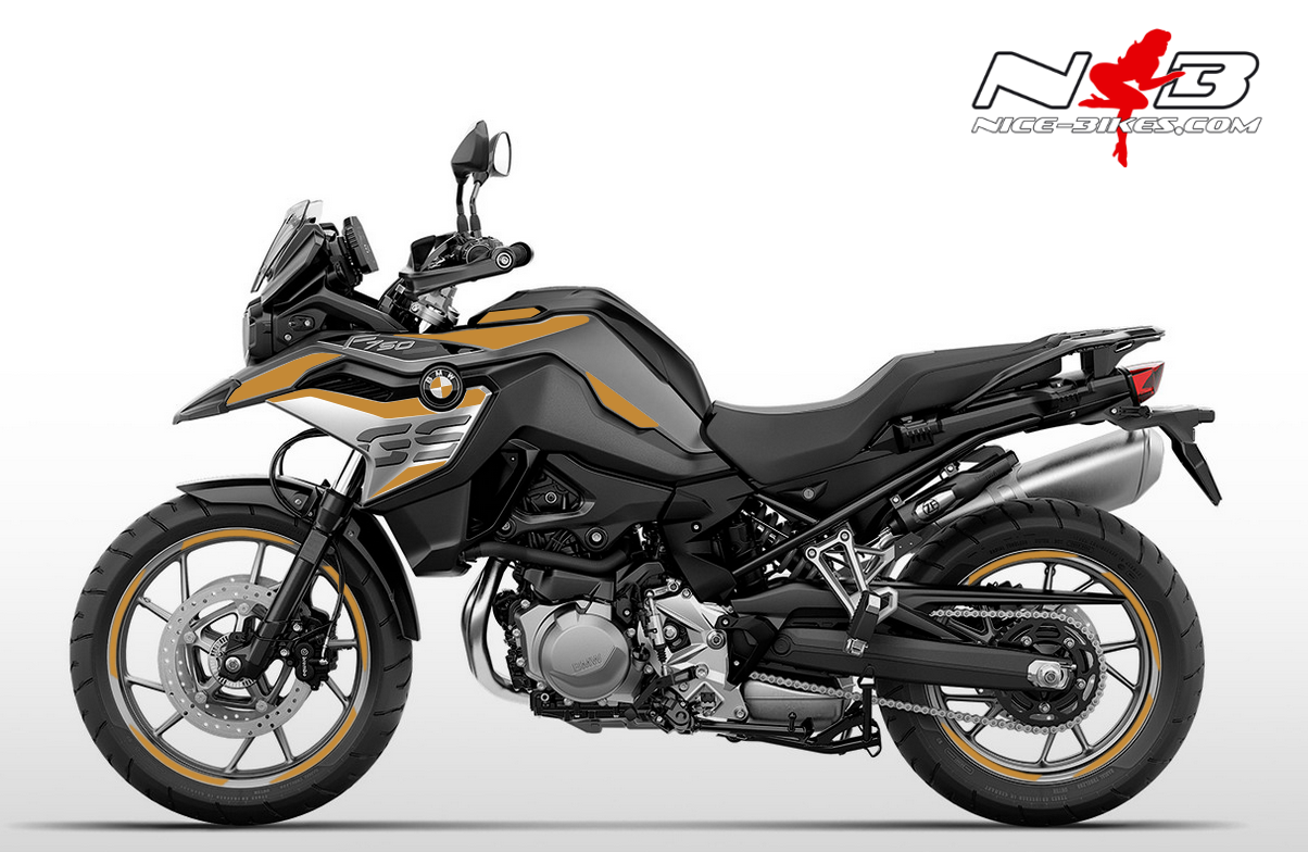 Foliendesign F750GS Olympic Gold
