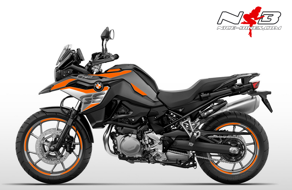 Foliendesign F750GS Evil Orange