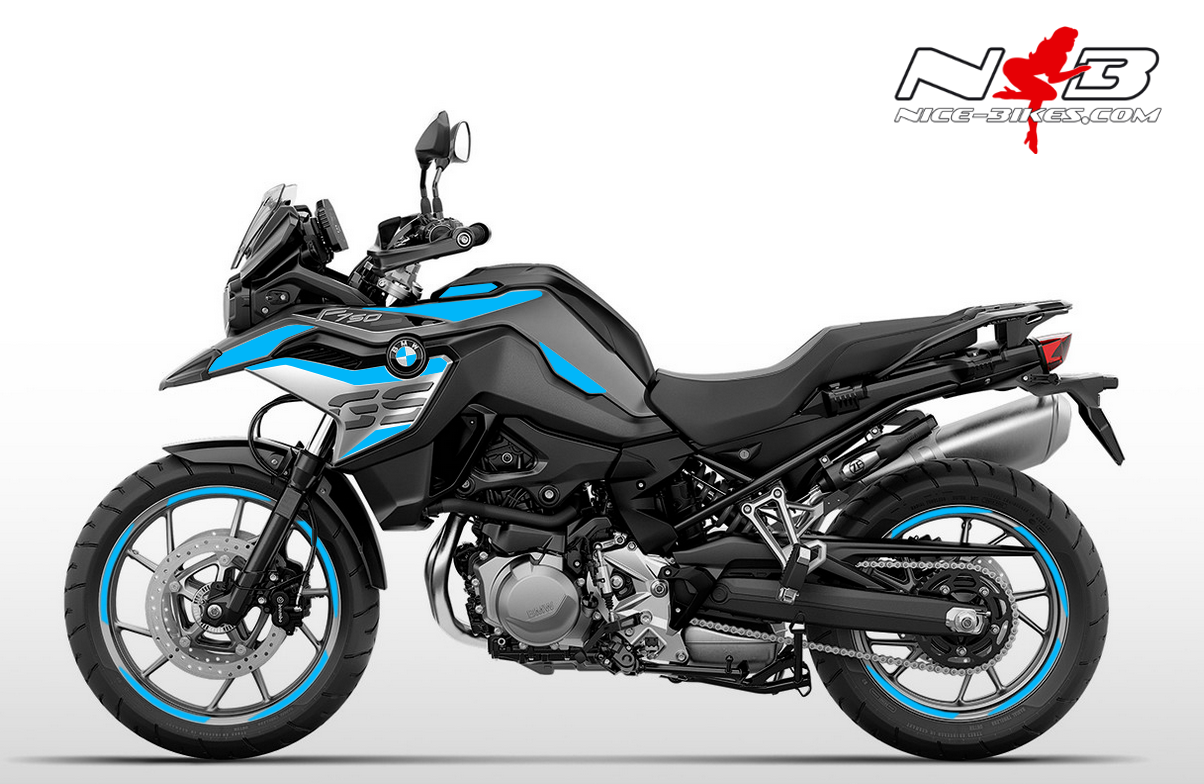 Foliendesign F750GS Light Blue