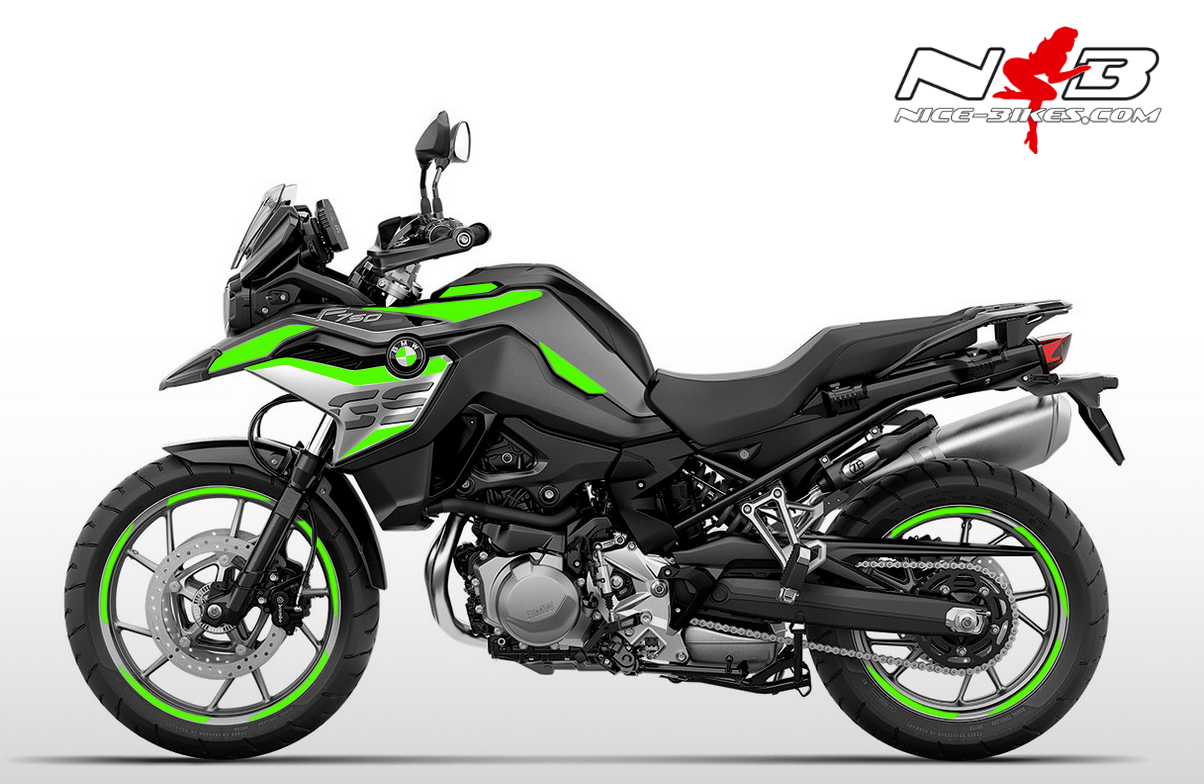 Foliendesign F750GS Lime-Green