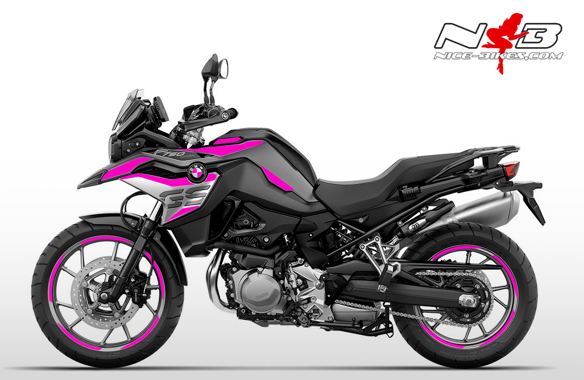 Foliendesign F750GS Pretty Pink