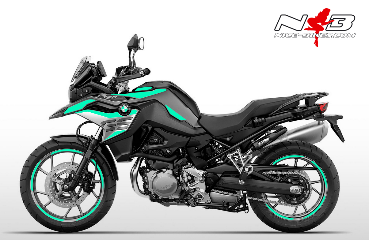 Foliendesign F750GS Mint Blue