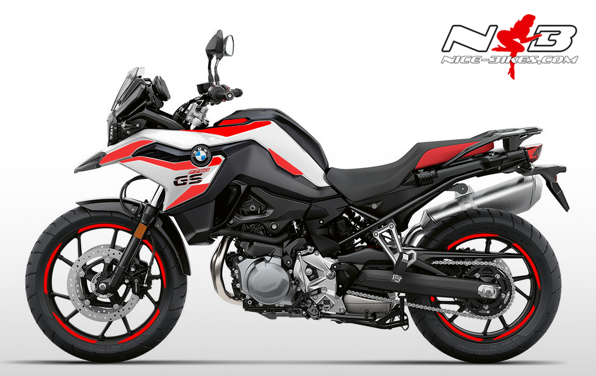 Foliendesign F750GS Racing Red