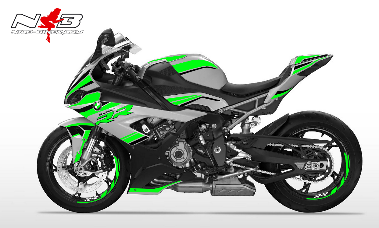 Foliendesign S1000RR (Bj. 2020) Lime-Green