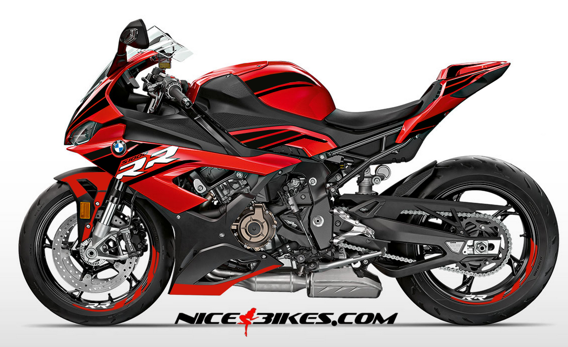 Foliendesign S1000RR (Bj. 2020) Magic Black