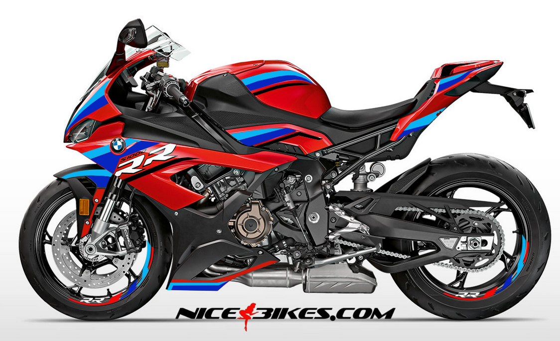 Foliendesign S1000RR (Bj. 2020) Red Motorsport Edition