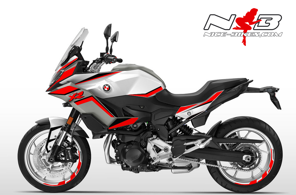 Foliendesign BMW F900 XR Racing Red