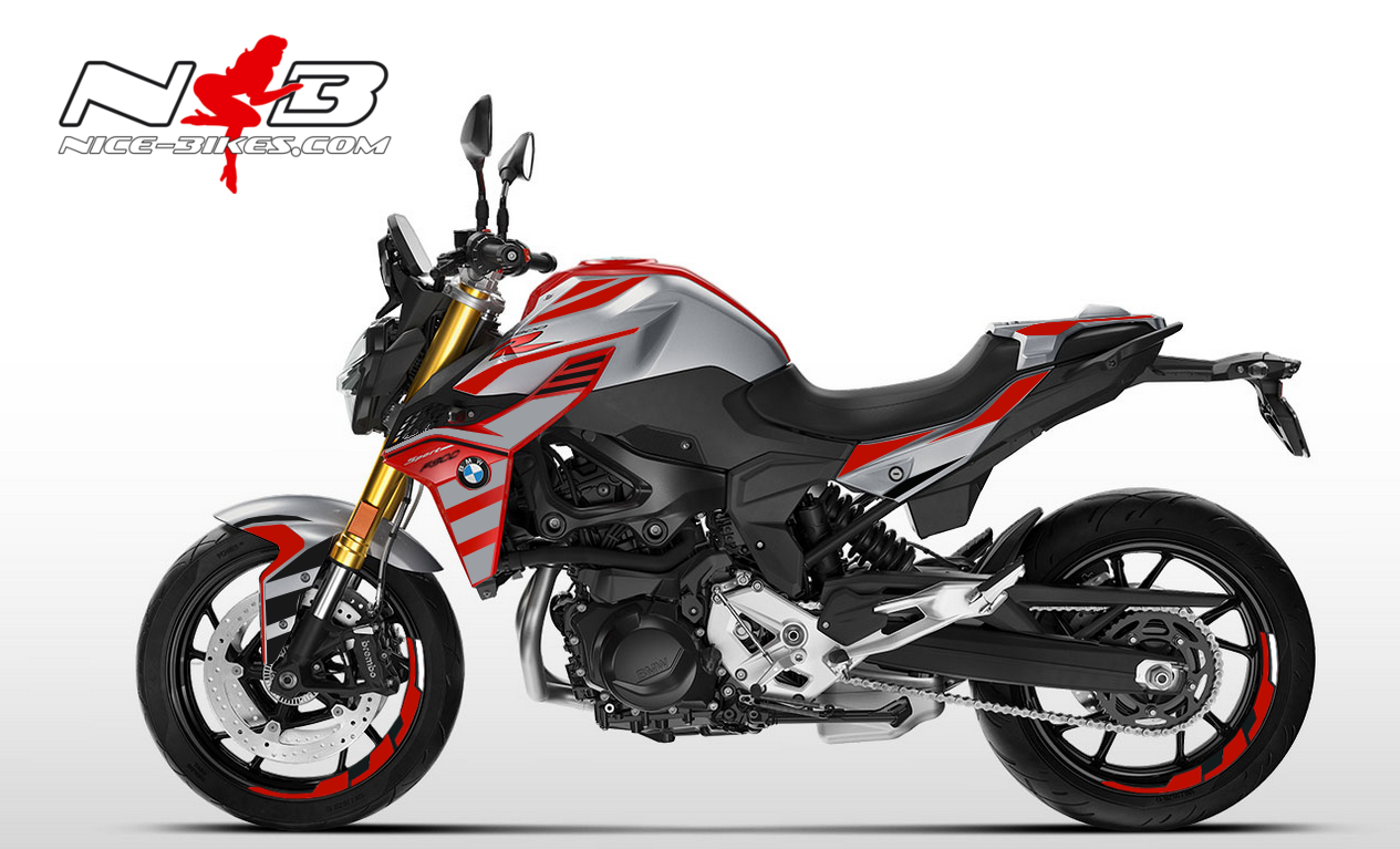 Foliendesign BMW F900 R Sport Racing