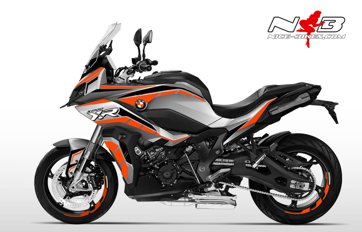 Foliendesign BMW S1000 XR (Bj. 2020) Evil Orange