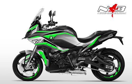 Foliendesign BMW S1000 XR (Bj. 2020) Lime-Green