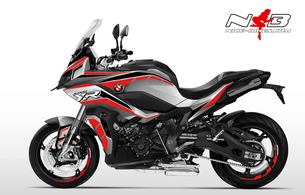 Foliendesign BMW S1000 XR (Bj. 2020) Racing Red