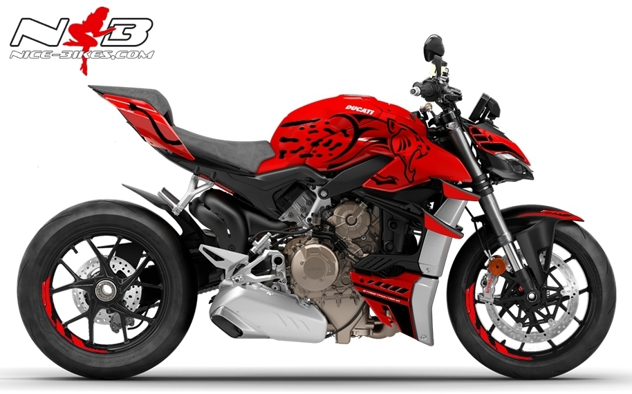 Foliendesign DUCATI Streetfighter V4S Leo Edition