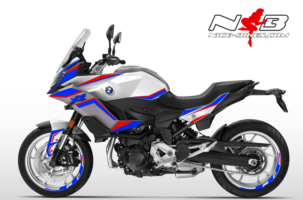 Foliendesign BMW F900 XR Motorsport